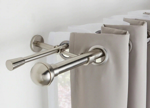 Fitting New Curtain Poles Eckington S21