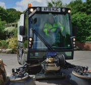 Pedestrian Sweeper Hire in East and South Yorkshire