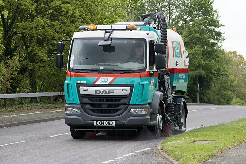 Local Road Sweeper Hire In Bakewell and Buxton
