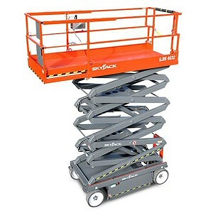 Scissor Lift Hire in Skegness