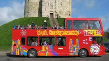 York Sight Seeing Red Bus